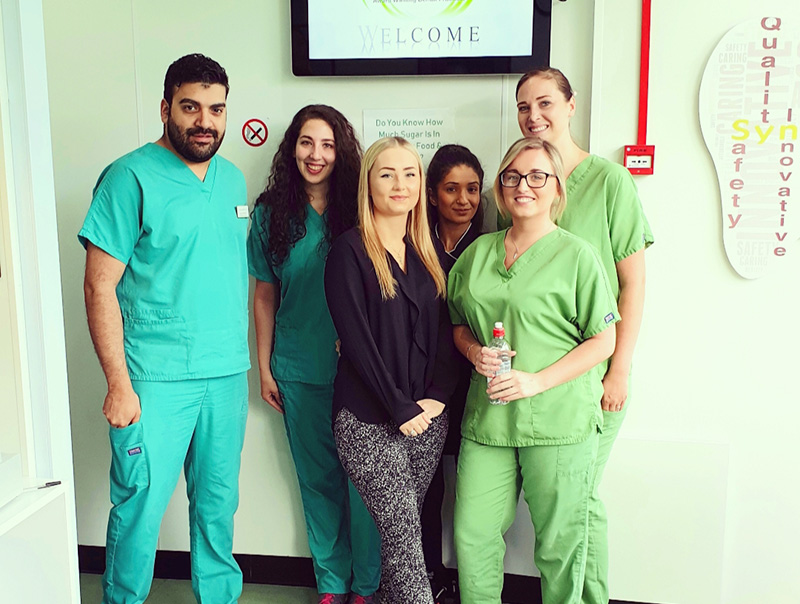 Synergy Dental Blackburn Team