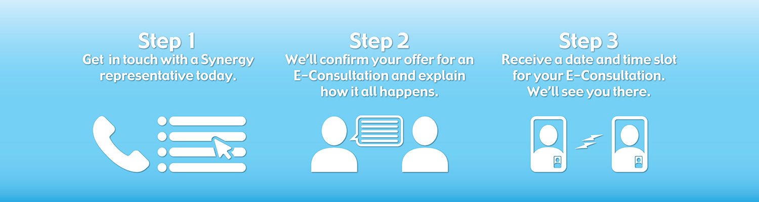 E-Consult Page Steps Banner
