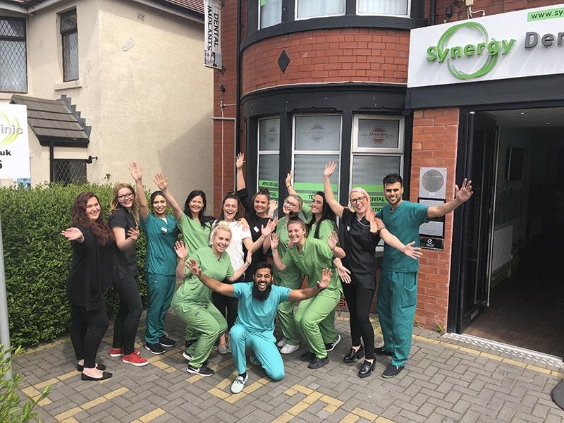 Synergy Dental Blackpool Team