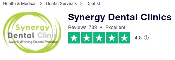 Synergy Dental Reviews Trustpilot